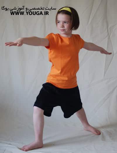 آموزش یوگا خردسالان
