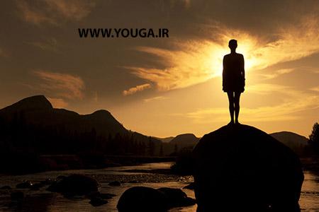 آموزش حرکت کوه در یوگا