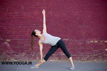 آموزش حرکت یوگا بصورت مبتدی