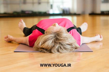 آموزش حرکت جسد در یوگا